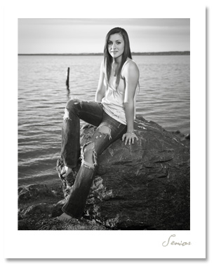 Ashley had a fabulous senior session with a great mix of urban grunge, soft nature and fresh seaside locations.  Very versatile!