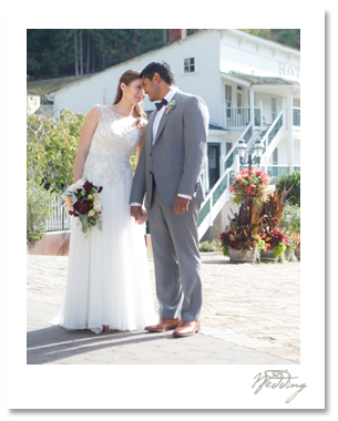 Allison and Suhail celebrated their gorgeous wedding in Roche Harbor on San Juan Island with close friends and family.