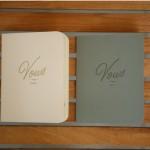 wedding vows, wedding book