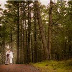 northwest roche harbor elopement in the woods