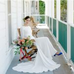 roche harbor wedding san juan island wedding elopement photographer inspiration picture bridal portrait long sleeve wedding dress