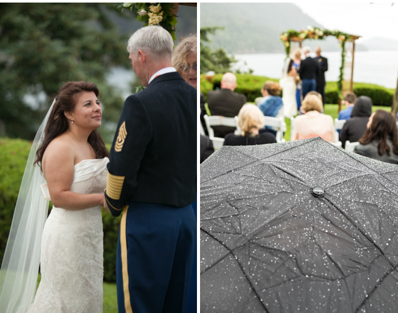 rosario wedding, orcas island wedding, orcas wedding photography, rosario wedding photographer, rainy day wedding