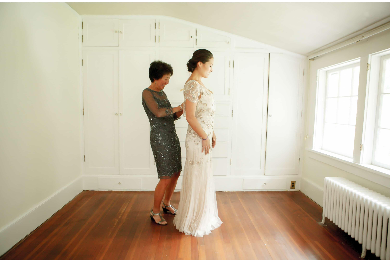 bellingham wedding photo photographer pink floral bridesmaids dresses