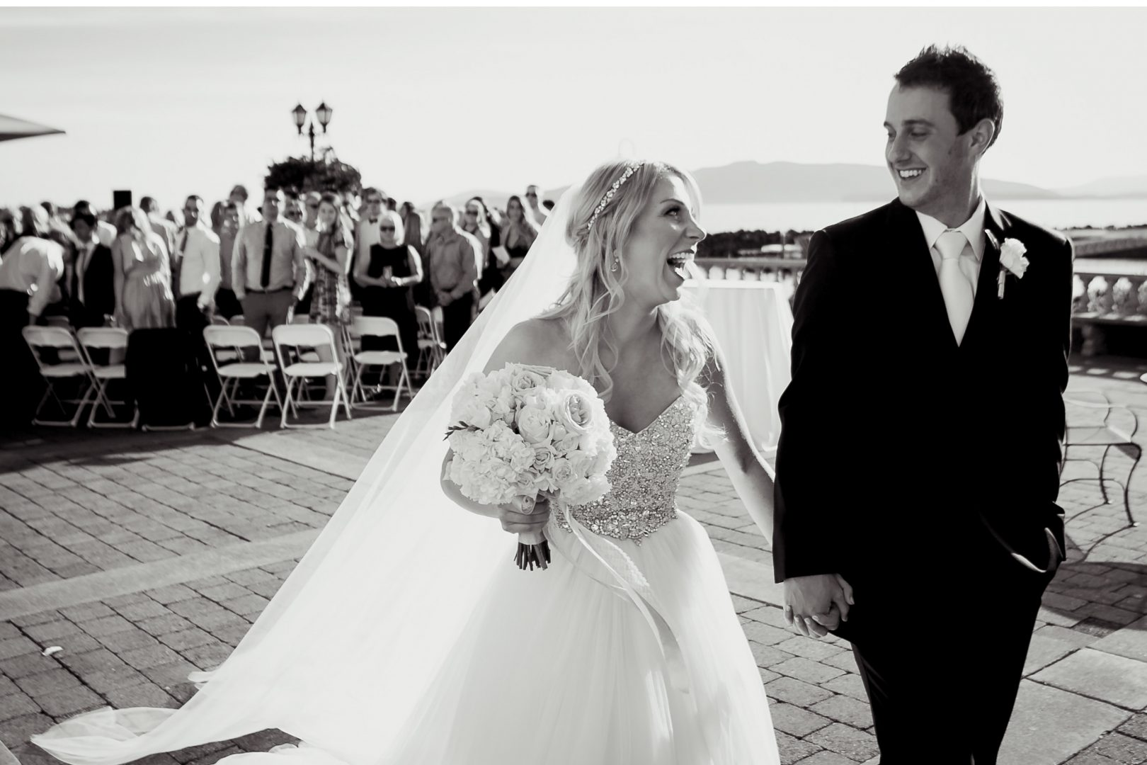 bellwether wedding photo inspiration after the ceremony photographer