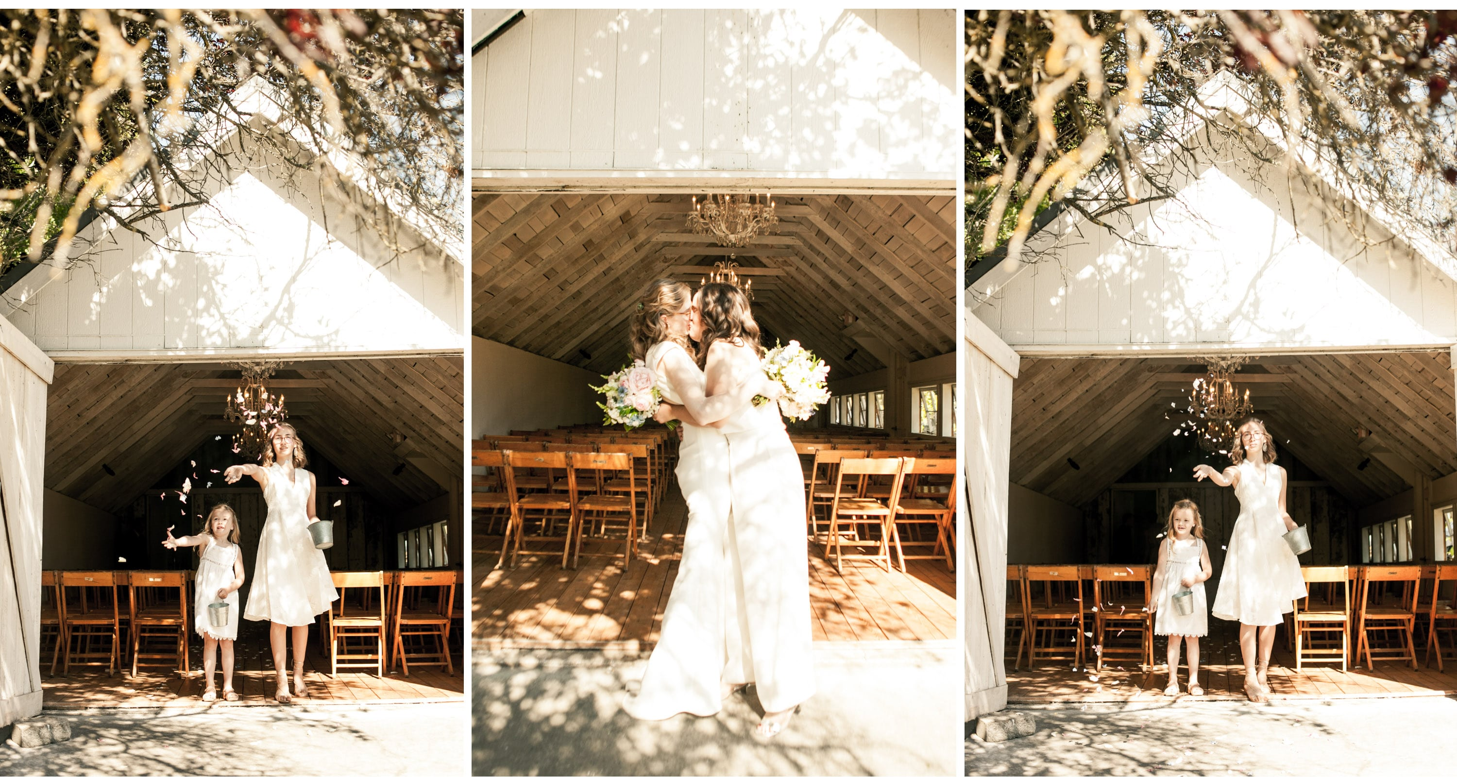 Whidbey island wedding photographer wayfarer farm photo inspiration same sex lesbian wedding