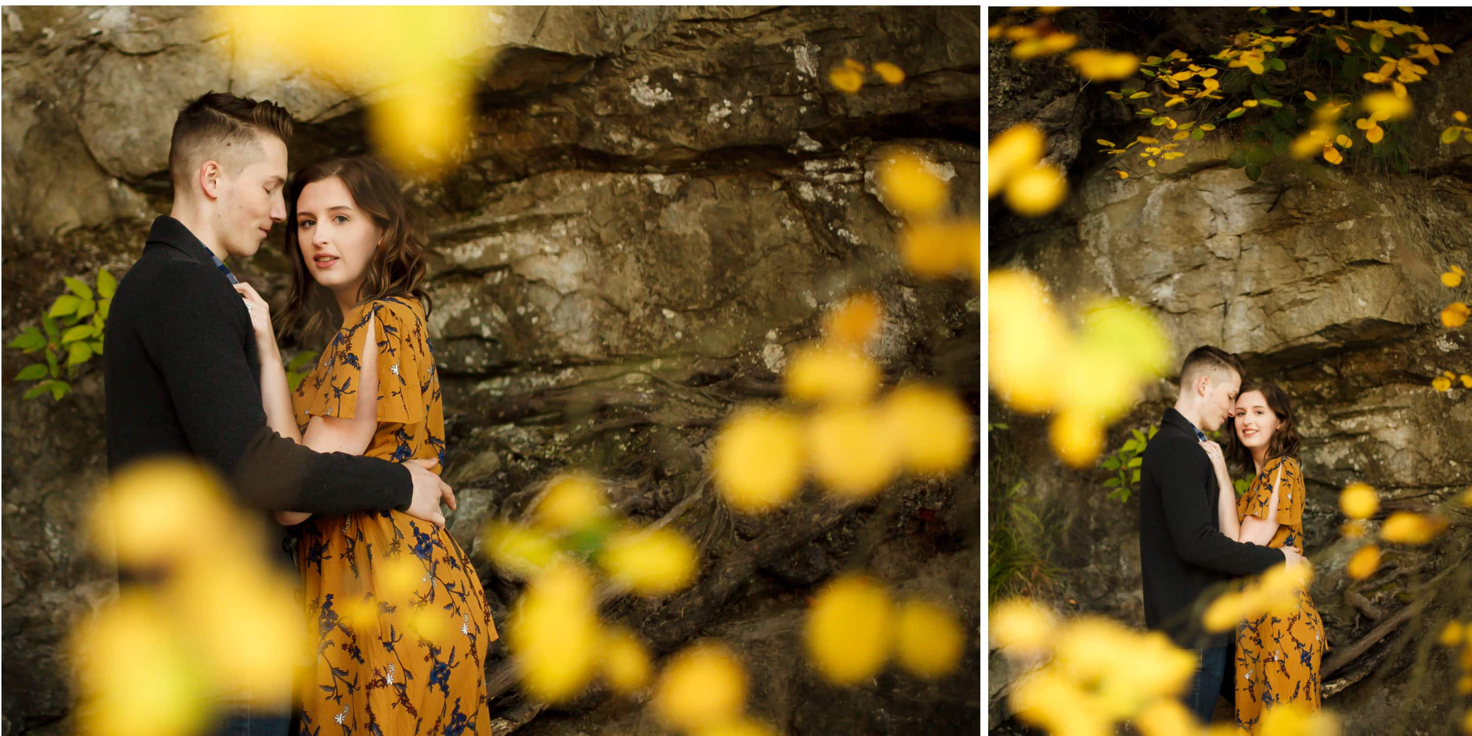 pnw adventure engagement session in bellingham wa fall photo inspiration