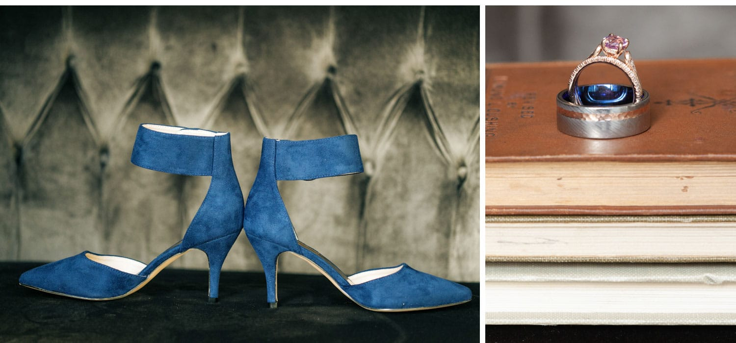 lairmont Manor wedding venue inspiration photo blue shoes photographer